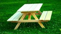 Click to enlarge image KIDS' PICNIC TABLE - <i><B><font size='-1'> The perfect fun table for the kids!</i></B>